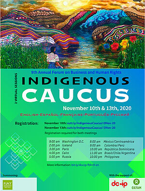 Flyer Indigenous Prep Meeting EN