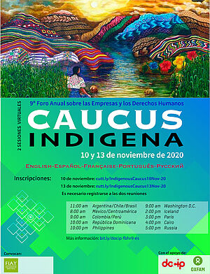 Flyer reuniones prep indígenas ES