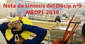 Photo: Nota de síntesis del Docip nº9 sobre el 12º período de sesiones del Mecanismo de Expertos (MEDPI)