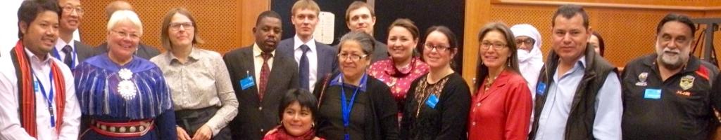 Rencontres des Peuples Autochtones avec l'UEDans sa mission de faciliter les relations entre l'UE et les peuples autochtones, le Docip assiste directement les délégués qui souhaitent informer l'UE sur les problématiques impactant leur communauté.