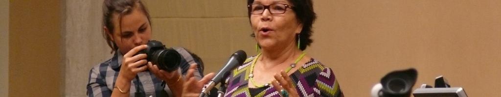 Capacitation des jeunes et ateliersL'engagement international et local des jeunes autochtones pour la reconnaissance de leur culture, de leur histoire et de leurs droits